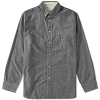 Rag And Bone Rag And Bone Standard Issue Oxford Shirt Black