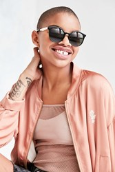 Urban Outfitters Sporty Round Sunglasses Black