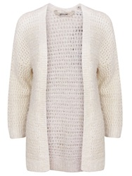 Garcia Fluffy Chuncky Cardigan Cream