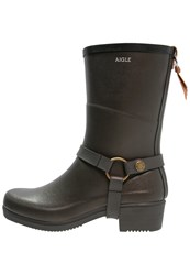 Aigle Miss Julie Wellies Oxyde Khaki