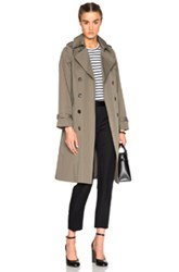 A.P.C. Barbara Trench In Green