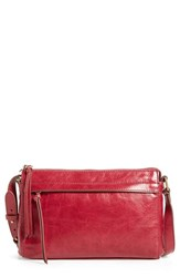 Hobo Tobey Leather Crossbody Bag Red