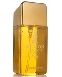 Receive A Complimentary Jumbo Shower Gel With Any Large Spray Purchase From The Paco Rabanne 1 Million Fragrance Collection