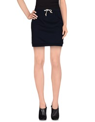 Douuod Skirts Mini Skirts Women Dark Blue
