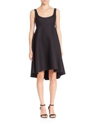 Milly Roxanne Empire Waist Dress Black