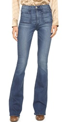 Mcguire Denim The Principle Mid Rise Flare Jeans Kings Road