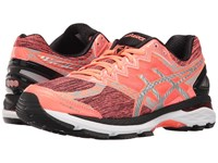 Asics Gt 2000 4 Lite Show Pg Flash Coral Silver Black Women's Running Shoes Orange