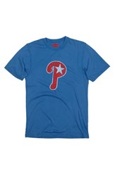 Men's Red Jacket 'Philadelphia Phillies' Trim Fit T Shirt