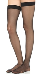 Wolford Individual 10 Stay Up Tights Black