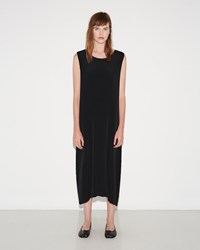 Issey Miyake Earth Pleats Dress Black