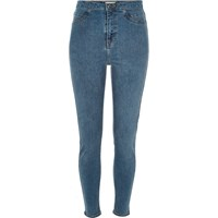 River Island Womens Mid Blue Wash Molly High Rise Jeggings
