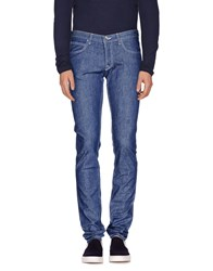 Eleventy Denim Denim Trousers Men Blue