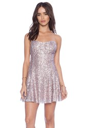 Lucca Couture Sequin Party Dress Pink