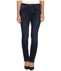Jag Jeans Petite Portia Straight In Platinum Denim In Indio Indio Women's Blue