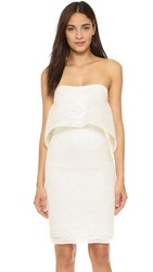 Black Halo Sedona Sheath Dress Chantilly White