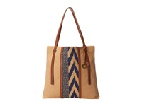 Lucky Brand Kendal N S Tote Sand Midnight Tote Handbags Brown