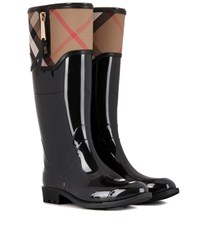 Burberry London England Bainbridge Wellington Boots Black