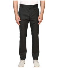 Vivienne Westwood Basic Wool Classic Trousers Green Men's Casual Pants