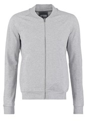 Your Turn Tracksuit Top Mottled Grey