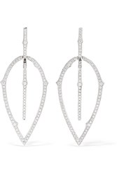 Stephen Webster 18 Karat White Gold Diamond Earrings