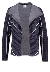 Saint Tropez Cardigan Blue Deep Black