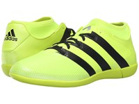 Adidas Ace 16.3 Primemesh In Solar Yellow Black Silver Metallic Men's Soccer Shoes Green