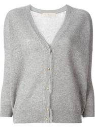 Vanessa Bruno Frayed Edge Cardigan Grey