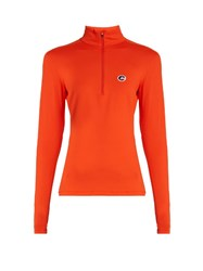 Fusalp Gemini Long Sleeved Performance T Shirt Orange