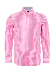 Eden Park Two Tone Striped Shirt Pink