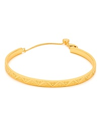 Gorjana Kate Zig Zag Bangle Gold