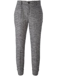 7 For All Mankind Tapered Trousers Grey