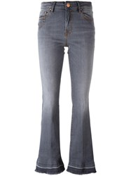 Don't Cry Flared Jeans Grey
