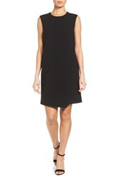 Halogenr Women's Halogen Asymmetrical Shift Dress Black