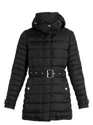 Burberry Harrowden Quilted Down Jacket Black