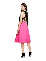 Kate Spade Colorblock Bow Back Dress