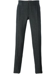 Incotex Classic Trousers Black
