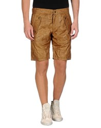 Just Cavalli Trousers Bermuda Shorts Men