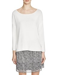 Suncoo Prisca Lace Up Top Blanc Casse