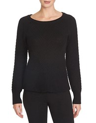 1.State Textural Turtleneck Top