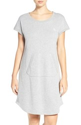 Lauren Ralph Lauren Women's Terry Nightgown Heather Grey