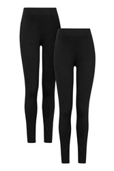 Topshop Maternity Multi Pack Leggings Black