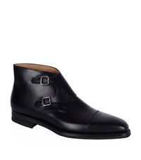 Crockett Jones Crockett And Jones Camberley Monk Shoe Male Black