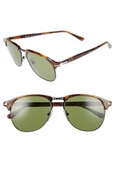 Persol Men's 56Mm Keyhole Sunglasses