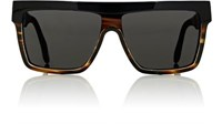 Victoria Beckham Women's Flat Top Visor Sunglasses No Color