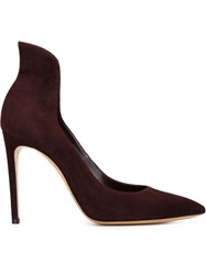 Casadei Pointed Toe Pumps Red