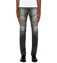 True Religion Rocco Relaxed Fit Mid Rise Jeans Grey Rider