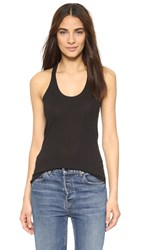 Dkny Racer Back Tank Top Black