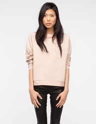 Base Range Basic Sweat In Nude