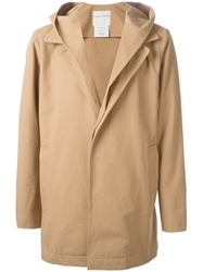 Stephan Schneider Hooded Coat Nude And Neutrals