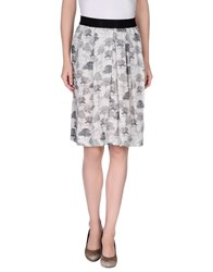 Brian Dales Skirts Knee Length Skirts Women Grey